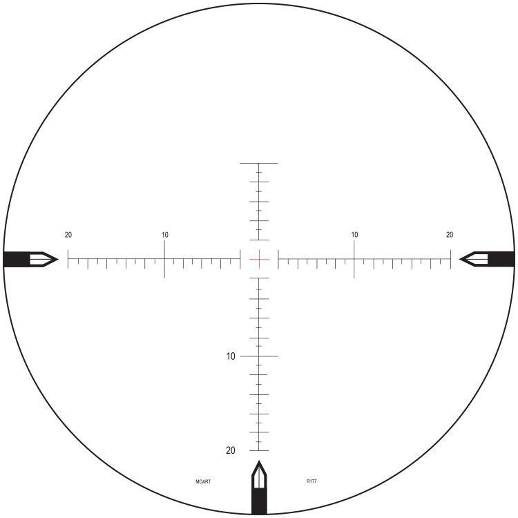MOAR-T Reticle